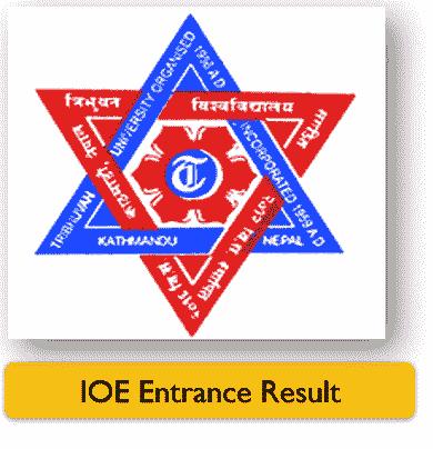 IOE Entrance Exam Result 2078