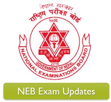 NEB Exam Notice and Exam Center 2078 (UPDATES)