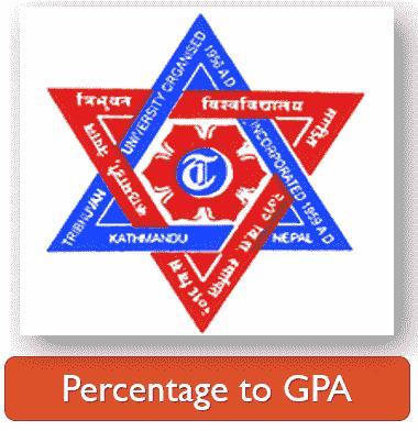 TU Grading Scale 2077 (Percentage to GPA)